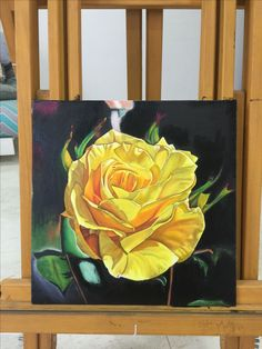 A yellow rose... painted wih oil paints on canvas. ART FOR SALE. It was first found growing in the wild in the Middle East during the 18th century, and immediately become popular in Europe and thus symbolises FREEDOM.... #artwork #art #art #artist #artwork #artsy #artistic #artistsoninstagram #painting #paints #paint #painted #oilpaints #canvas #yellowrose #freedom #homedecor #interiors #interiordesign #interiordesigner #prints #artforsale #followme #followforart #loveart #respectartist