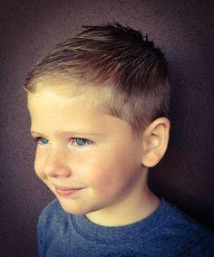 coiffure moderne petit garçon