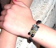 The Look Of Vintage Bracelet by BranchingOutFurther on Etsy,