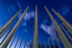 Columnas de la fuente del Parque Lo Torrent
