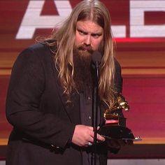 Red Carpet: Grammys 2016: Chris Stapleton Wins Best Country Album