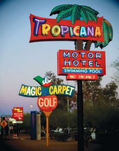 Tropicana Motor Hotel and Magic Carpet Golf