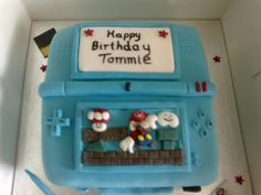 Nintendo DS cake my friend Tina made for my son Tommie x