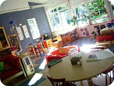 WOW, how wonderful would it be to teach in this room everyday?!