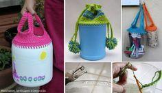 estrellas hechas con botellas de plastico - Buscar con Google