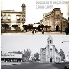 Londres 2 Esquina Roma 1900-1967 Casona sustituida por almacén de abarrotes