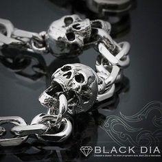 Mens Jewellery Wallet Chain - Biker,Trucker,Hip Hop,Rapper Skull Chain C2208 UK