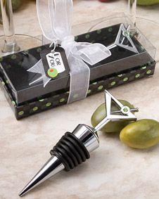 Marvelous Martini Design wine  bottle stoppers $1.60 #BottleStoppers #wedding #weddingfavor #favor #bridal #bridalshower #babyshower #shower #gift #sale http://www.bluerainbowdesign.com/WeddingFavorProduct.aspx?ProductID=PR012610174999KelowSXimenaBRD23376=WEDDI=GROUP=WSTOP