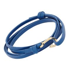 Miansai Mini Hook Wrap Bracelet. The wrong color but an interesting way to add a pop of color...