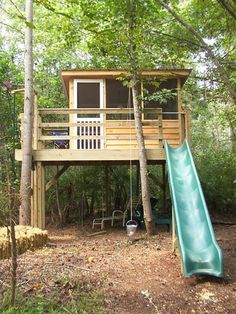 DIY Treehouse IDeas and Plans, so inspiring for you. #playsetoutdoordiy