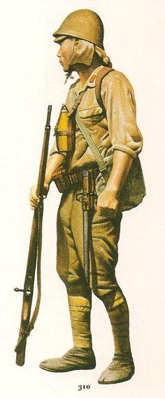 Esercito Imperiale Nipponico - Soldato di prima classe  1942