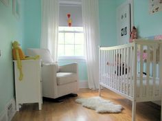 Bright And Airy Nursery With The Luca Glider In Stone Design Ideas