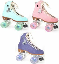 Moxi Lolly Indoor / Outdoor Roller Skates-The Moxi Lolly is an incredibly comfortable skate that features both shock absorbing wheels and suede leather boots for extreme comfort when skating on any outdoor or indoor surface. -Add some sass with your choice of boot and wheel colors -Great for recreational skating outdoors -Kids, teens, and adults adore these skates