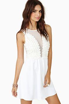 Lulu Dress in Daisy Lace by For Love & Lemons