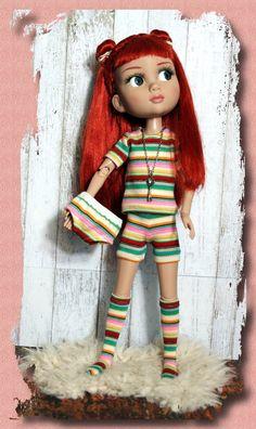 Patience has a secret...4 PC lingerie/lounging set for #Tonner#Patience dolls by KarmelApples