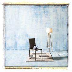 Chair, Lamp & Rug by Conran