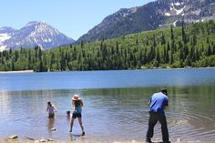 Silver Lake in AF Canyon: Beautiful lake, sandy beach, great hikes.