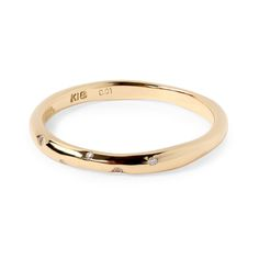 Phalange ring diamond K18 gold 1401-PAR25 e.m. #em #phalangering #midiring #diamond #gold