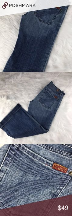 Dojo 7 For all mankind cropped jeans Good pre owned condition 7 for all Mankind Jeans Ankle & Cropped