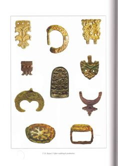 Findings from Bojná, Great Moravia, IX. century AD.