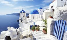 Greece Vacation with Airfare from Gate 1 Travel - Santorini, Mykonos, and Athens Greek Islands Vacation, Greek Islands To Visit, Greece Vacation, Greece Travel, Greece Tours, Greece Honeymoon, Rome Travel, Santorini Tours, Santorini Suites