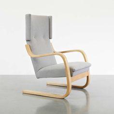 Alvar Aalto Wingback Lounge Chair, Circa 1950 image 4