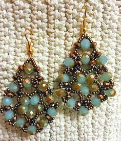Linda's Crafty Inspirations: Video Tutorial - Orecchini con Cipollotti (Earrings with Rondelles)