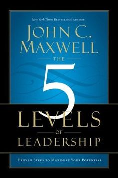 Anything John Maxwell writes is worth being on your reading list.  This book, the 5 Levels of Leadership, is on my reading list for this spring