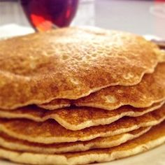 "Gluten-Free Fluffy Pancakes | ""Tall, fluffy, and gluten-free pancakes are every bit as delicious as the original using regular flour."""