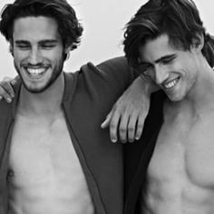 You don't need to wonder what perfection looks like anymore. | 54 Reasons To Fall In Love With These Twin Male Models