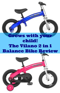 The Best Balance Bike For Toddlers Vilano 2 In 1 Review