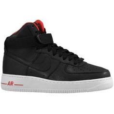 online store f5bb5 e6c59 Lebron James Nike Air Force 1 High Premium Le - Mens - Black Black  discovered on Fantasy Shopper