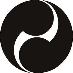 Kamon (tomoe) - emblème familial japonais