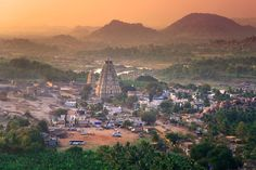 Hampi - The enchanting Indian city of red-gold boulders and temples is one of the hottest destinations of the year