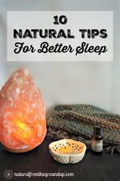 10 Natural Tips For Better Sleep