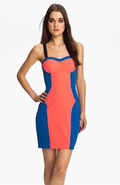 Rebecca Minkoff 'Claudia' Colorblock Body-Con Dress available at Nordstrom