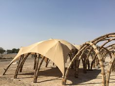 Fabrics pavilion?! sandra piesik 3 ideas ltd food shelter al ain unesco world heritage site designboom