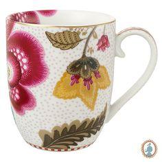 Eu quero muito essa caneca!! Porcelana Pip studio floral fantasy é linda demais. #flower #floral #design #decor #casa