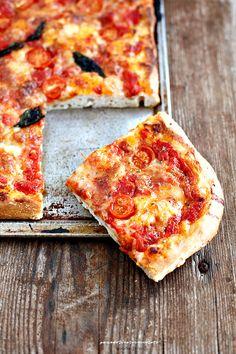 Impasto per Pizza in teglia con idratazione al 70%