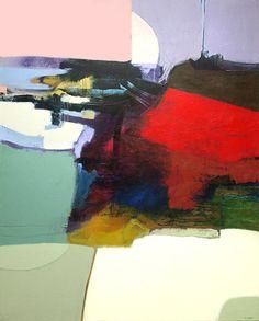 "Unexpected Destination, Acrylic on Canvas, 50 X 40"" Available"