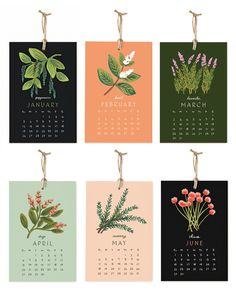 Herbs & Spices 2014 Calendar2