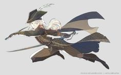 """""""Only an honest death will cure you now. """" li'l Lady Maria toon to start off 2016"""