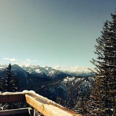 Traumhafter Blick vom #Herzogstand #Bayern #Deutschland in die #Alpen