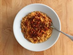 Most of the time I use my all-purpose pasta dough recipe when making homemade noodles. But this past weekend I took a virtual trip to Piemonte and made tajarin, hand-cut egg noodles typical of this…