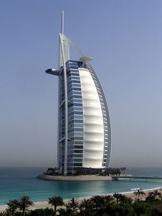 Burj al Arab (Dubai, UAE) del arquitecto Tom Wright