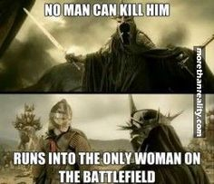 Bad luck Witch King