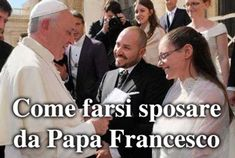 Cum de a se căsători de Papa Francis
