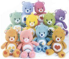 Care Bear amigurumi crochet doll pattern by room65 on Etsy, $10.00