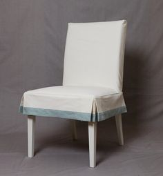 Guineys Dining Chair Covers Papasan Rocking 54 Best Banding Trim Images Blinds Couches Living Room Short Tailored Skirt With Contrast Band To Fit Ikea Henriksdal Slipcovers