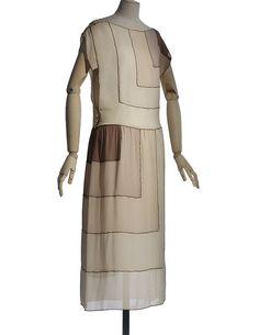 Madeleine Vionnet, summer 1922, Les Arts Décoratifs collection, U.F.A.C